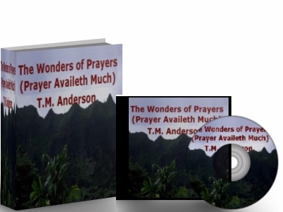 T.M. Anderson - Dynamic book on Prayer
